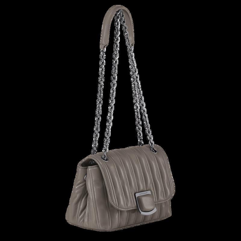 Brioche Crossbody bag S, Turtledove