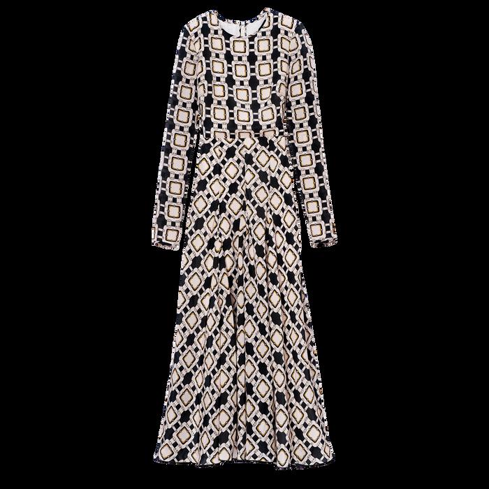 Robe longue, Ivoire - Vue 1 de 1 - agrandir le zoom