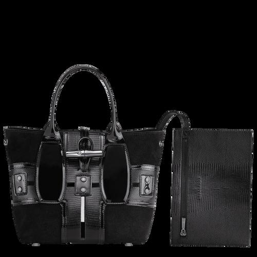 手提包, 黑色/烏黑色 - 查看 4 5 -