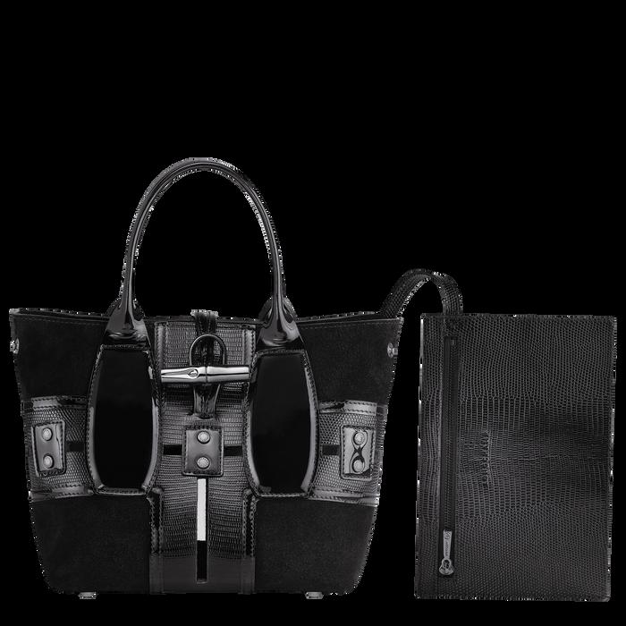 手提包, 黑色/烏黑色 - 查看 4 5 - 放大