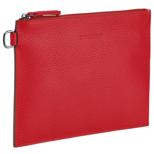 View 2 of Essential Pouch, Red, hi-res
