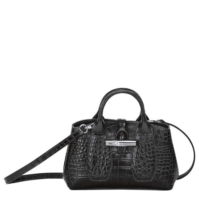 Top handle bag XS, Black/Ebony - View 1 of  4 - zoom in