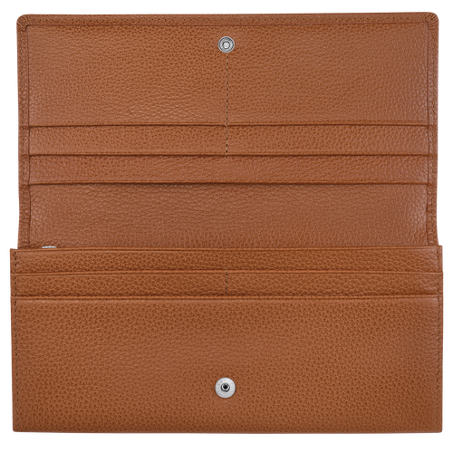 Long continental wallet, Caramel, hi-res - View 2 of 2
