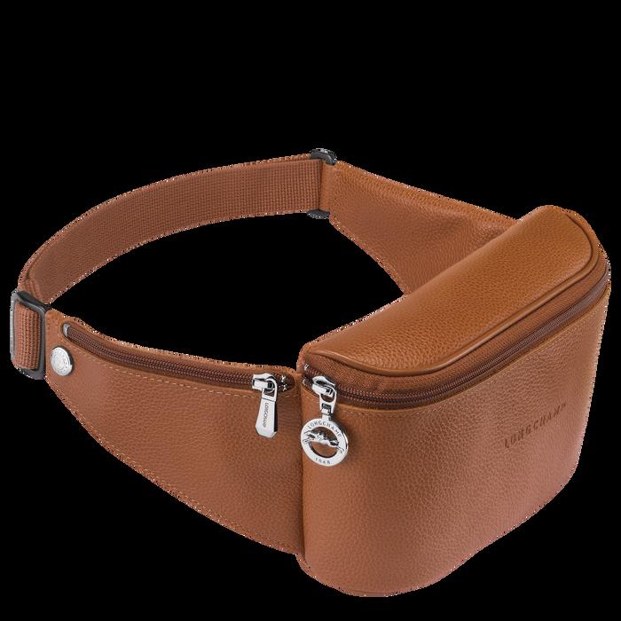 Le Foulonné Belt bag, Caramel