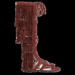 Sandales plates, 404 Châtaigne, hi-res