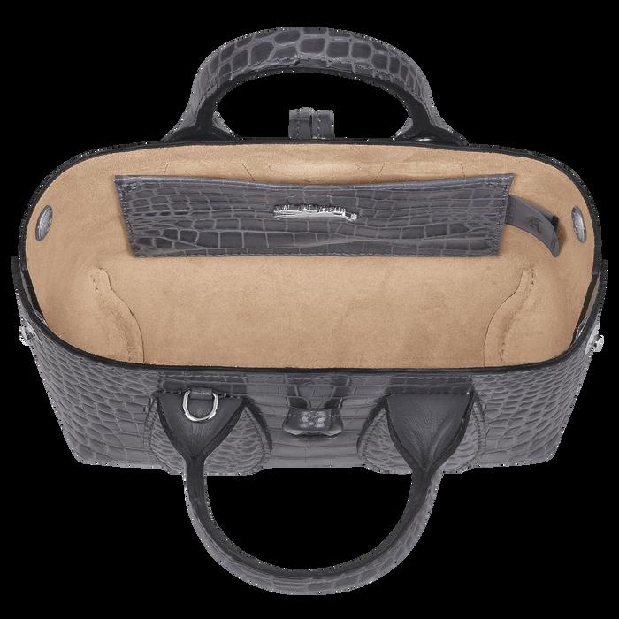 Roseau Top handle bag XS, Gun metal