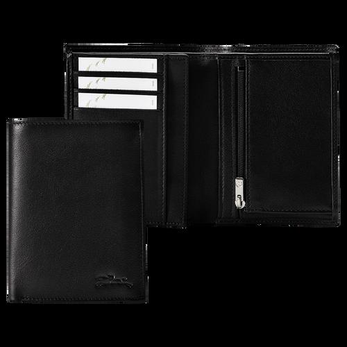 Geldbörse, Schwarz/Ebenholz - Ansicht 1 von 3 -