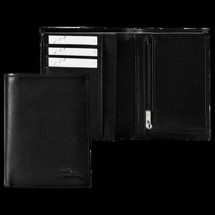 Geldbörse, Schwarz/Ebenholz - Ansicht 1 von 3 - Zoom vergrößern