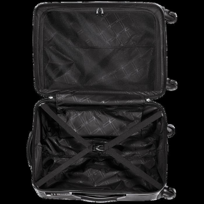 Koffer, Zwart/Ebbenhout - Weergave 3 van  3 - Meer inzoomen.