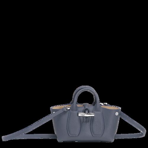 View 1 of Top handle bag S, Pilot blue, hi-res