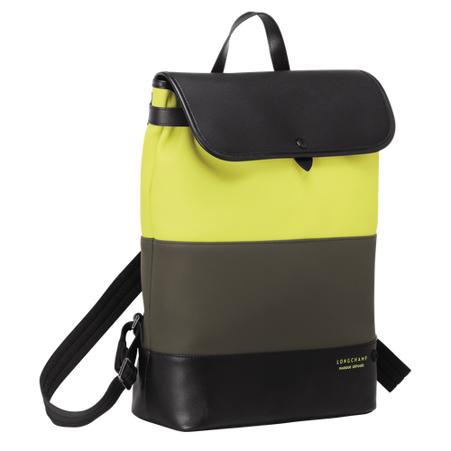 View 2 of Backpack, E84 Neon/Khaki, hi-res