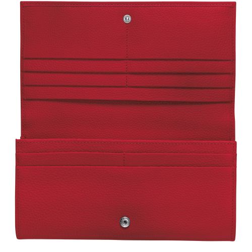 Long continental wallet, Red - View 2 of  2 -