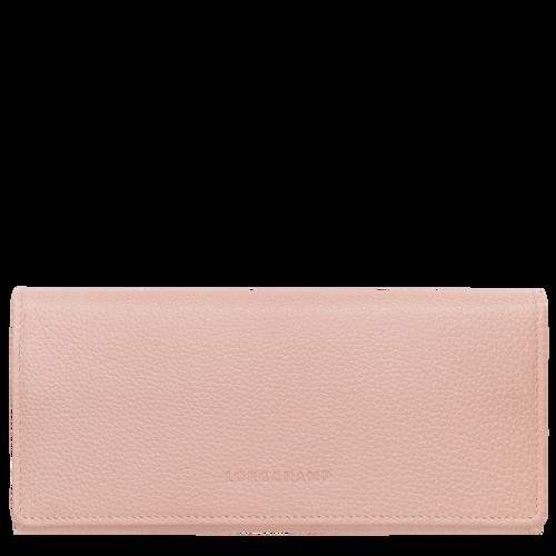 Long continental wallet Le Foulonné Powder (L3044021507) | Longchamp US