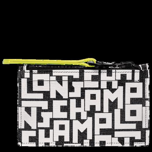 Le Pliage LGP Coin purse, Black/White