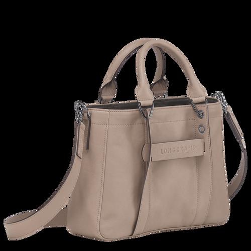 Top handle bag S, Brown, hi-res - View 2 of 3