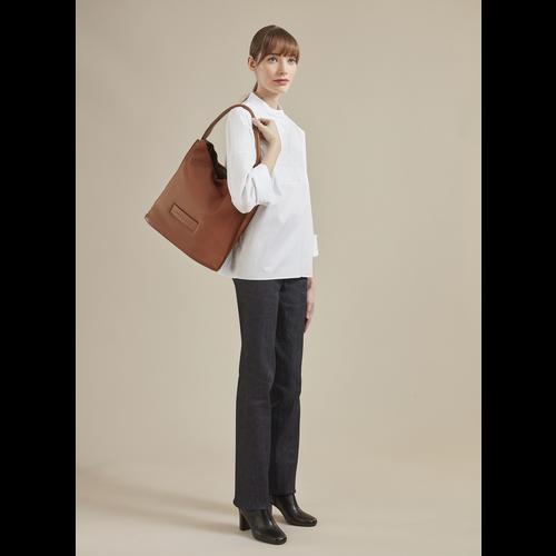 Longchamp 3D Shopper, Cognac