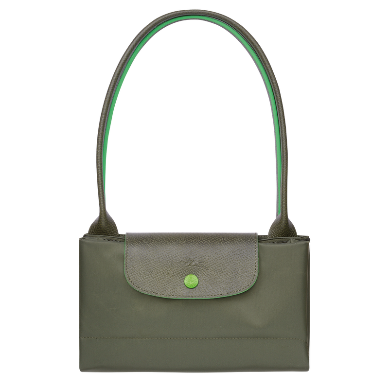 Shoulder bag L, Longchamp Green - View 4 of  5 - zoom in