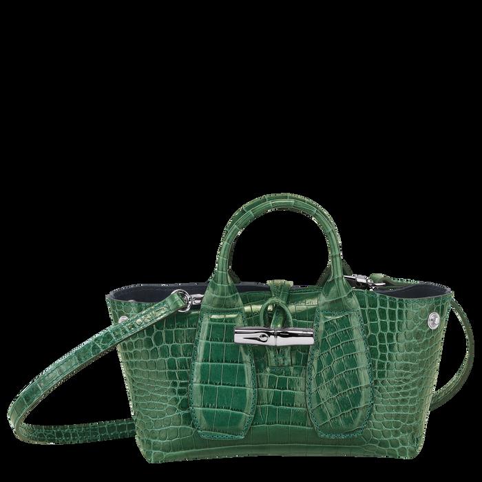 Top handle bag XS, Green havana - View 2 of  4 - zoom in