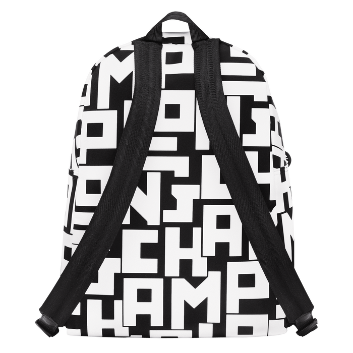 Backpack M, Black/White - View 3 of 4 - zoom in