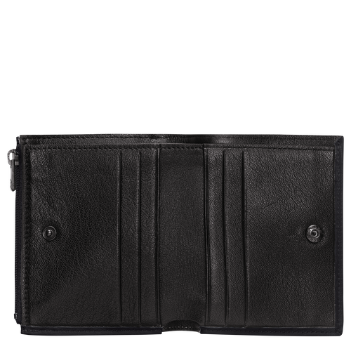 Compact wallet, Black/Ebony - View 2 of  2 -