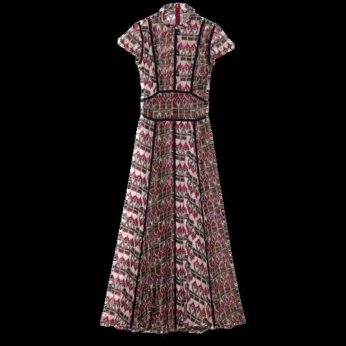 Robe longue, 009 Bordeaux, hi-res