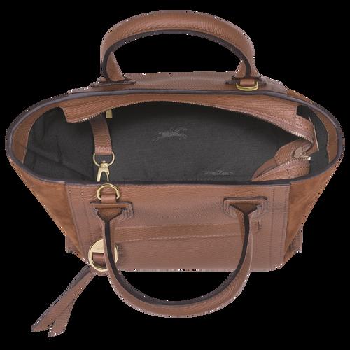 Top handle bag S, Cognac - View 4 of  4 -