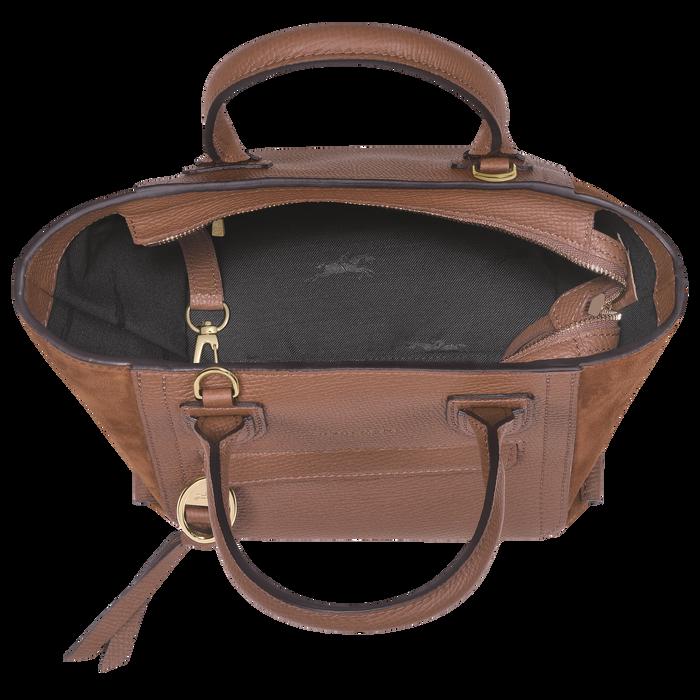 Top handle bag S, Cognac - View 4 of  4 - zoom in