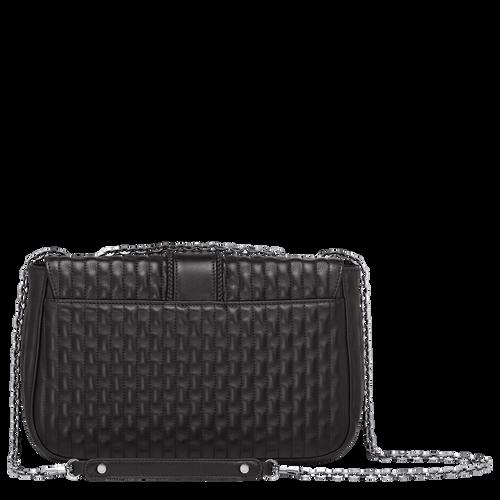 Crossbody bag M, Black, hi-res - View 3 of 3