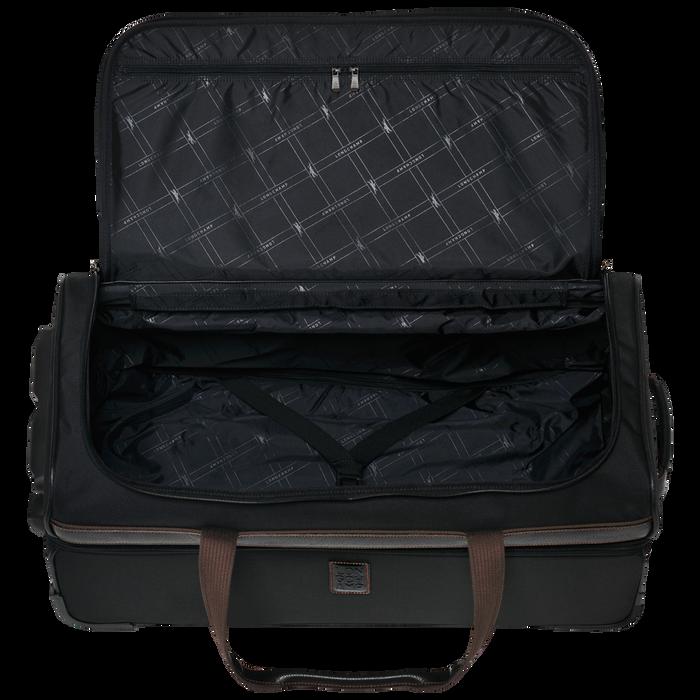 Wheeled duffle bag, Black/Ebony - View 3 of  3 - zoom in