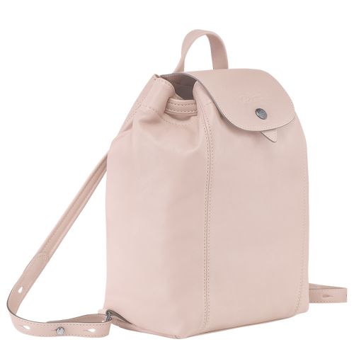 Le Pliage Cuir Backpack, Pale pink