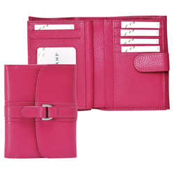 Portefeuille compact, 018 Rose, hi-res