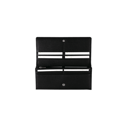 Long continental wallet, Black - View 3 of  3 -