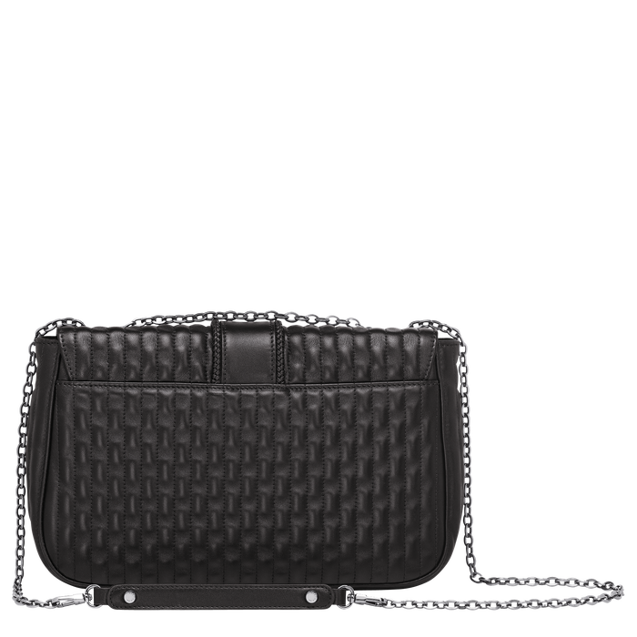 Crossbody bag M, Black/Ebony - View 3 of 3 - zoom in