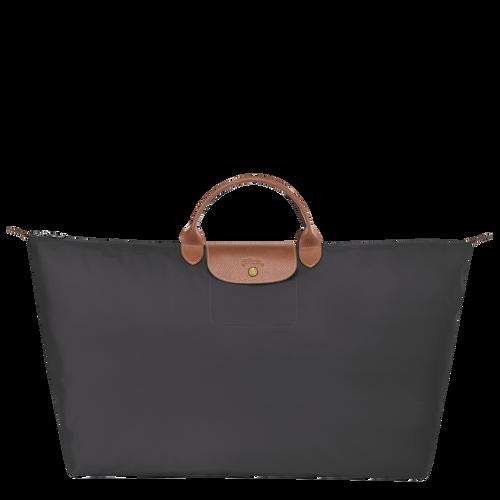 Travel bag XL Le Pliage Gun metal (L1625089300)   Longchamp US