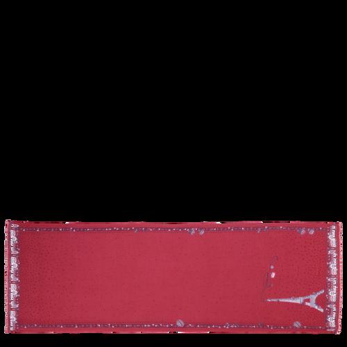 Colección otoño-invierno 2021 Estola de mujer, Rojo