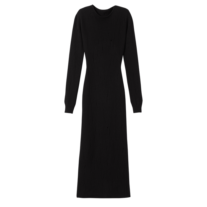 Fall-Winter 2021 Collection Long dress, Black
