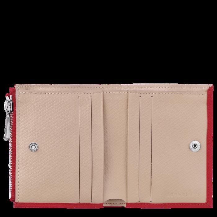 Cartera compacta, Rojo - Vista 2 de 2 - ampliar el zoom
