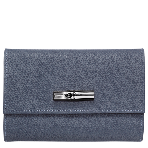 Compact wallet, Pilot blue - View 1 of  2 -