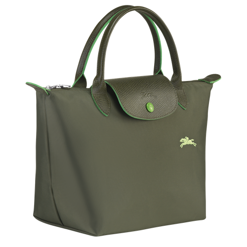 Top handle bag S, Longchamp Green - View 2 of 5 -