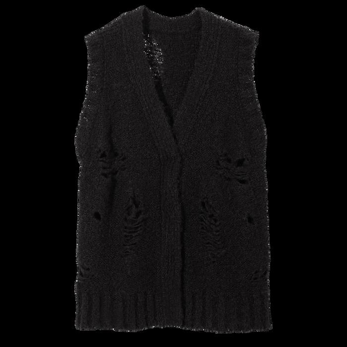 Herbst-Winter-Kollektion 2021 Pullover, Schwarz