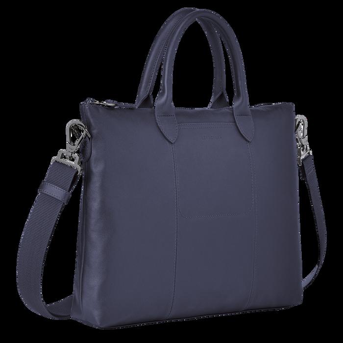Top handle bag, Navy - View 2 of  3.0 - zoom in