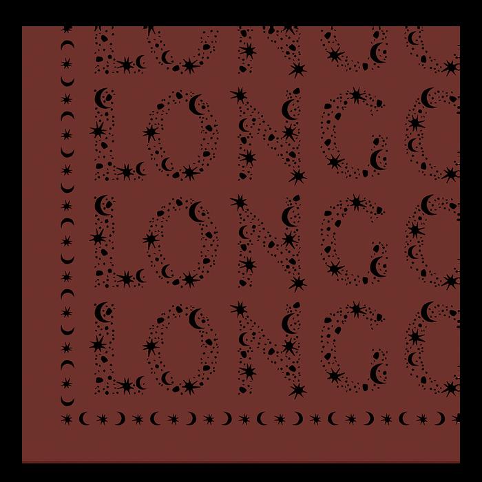 2021 秋冬系列 絲質圍巾, 赭黃色