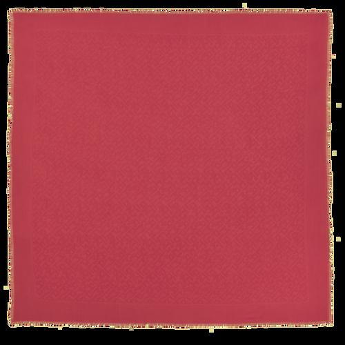 Colección primavera-verano 2021 Estola de mujer, Rojo