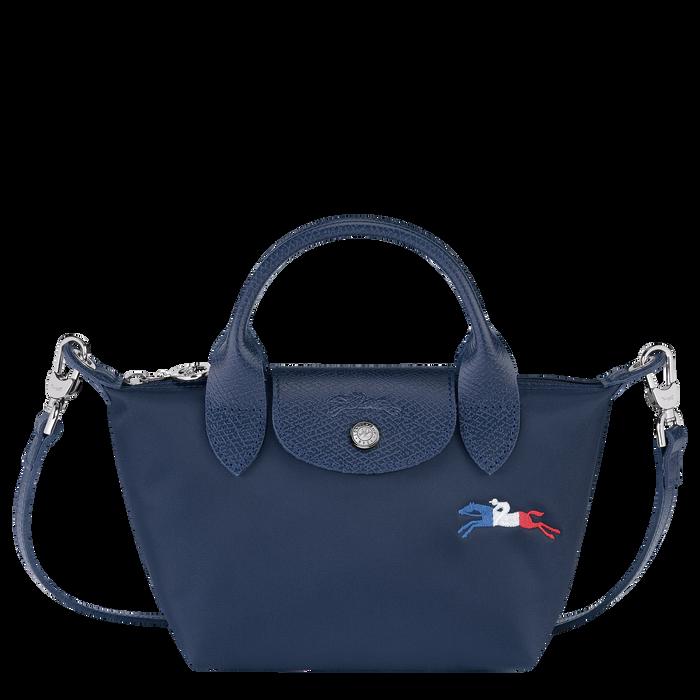 Le Pliage Collection Top handle bag XS, Navy