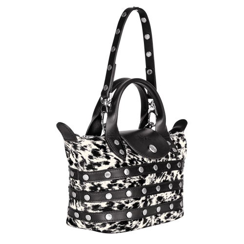 View 2 of Mini-Handbag, Black/White, hi-res