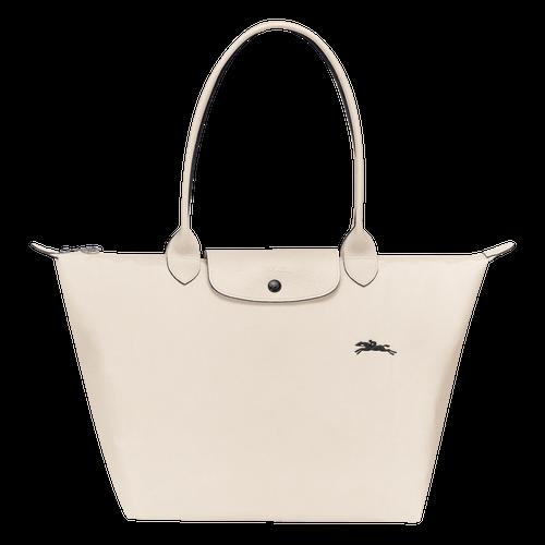 Sac porté épaule L Le Pliage Club Craie (L1899619337) | Longchamp FR