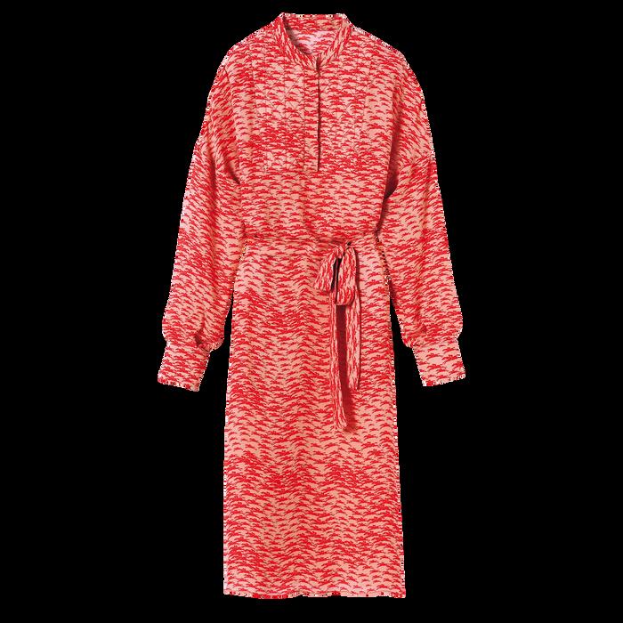 Fall-Winter 2021 Collection Long Dress, Orange