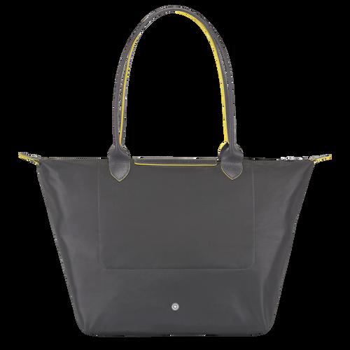 Shoulder bag L, Gun metal, hi-res - View 3 of 5