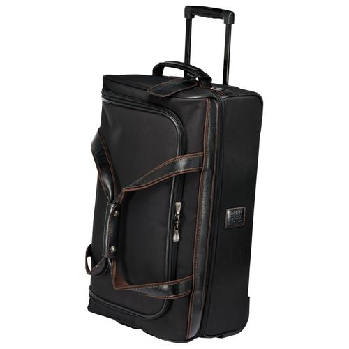 Wheeled travel bag S, 001 Black, hi-res
