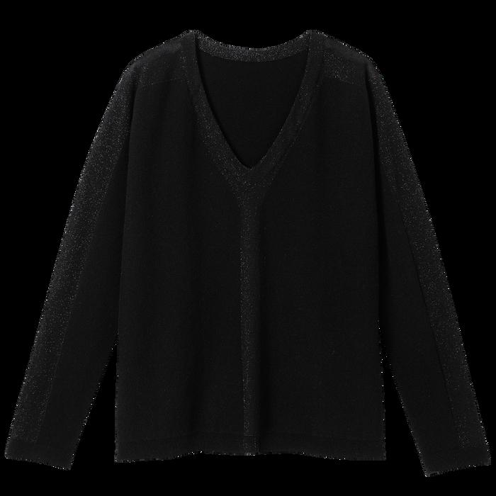 Pullover, Schwarz/Ebenholz - Ansicht 2 von 2 - Zoom vergrößern
